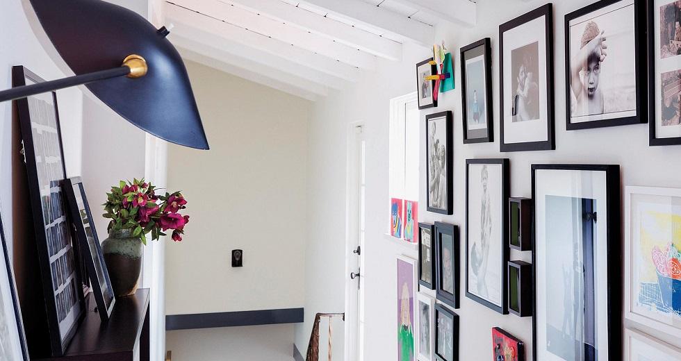 artwork hallway