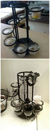 Candles melt away over time anyways, so why not replace them with something more permanent?