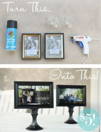 Give the happy couple the perfect means to diplay their favorite wedding photos.