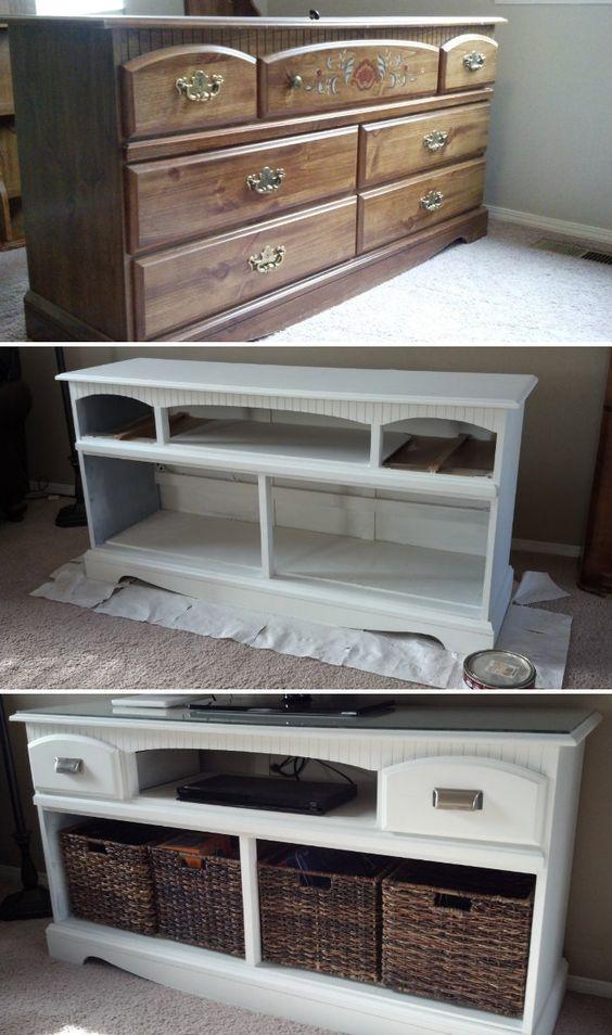refinished dresser #2